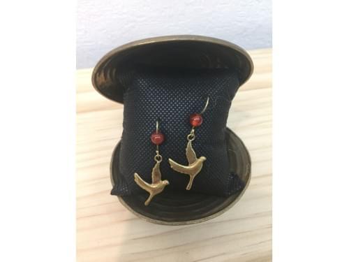 【法爾】JT子彈耳環|柬埔寨彈殼製作