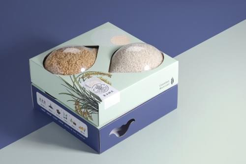 官田烏金菱米晴光禮盒組