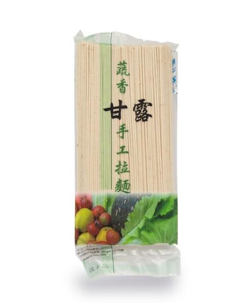 [活水源]蔬香甘露手工拉麵(全麥寬麵條) 300g