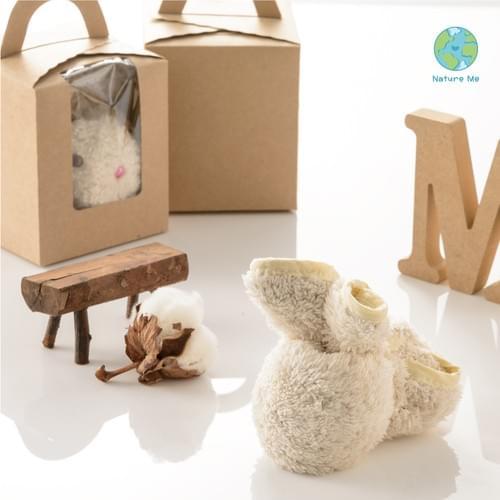 [淨地球]棉花糖絨米兔巾