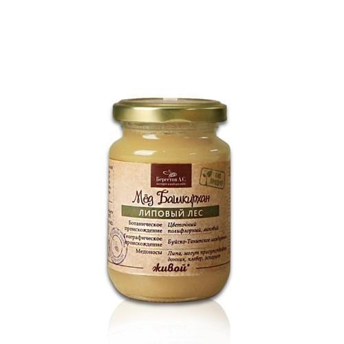 【Berestoff 貝爾】天然能量椴樹生蜂蜜 240g