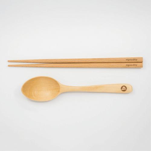 [好日子]好日子原木餐具組