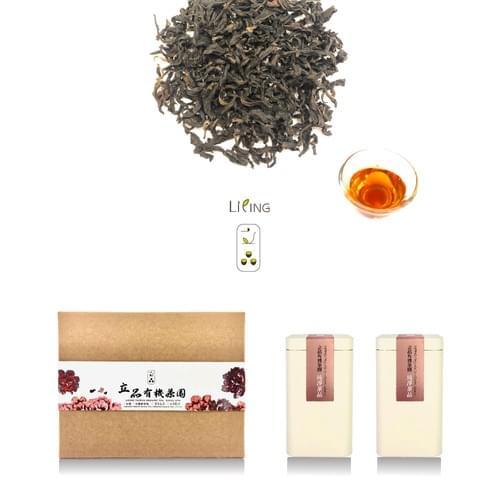 [立品送禮嚴選]兩罐入禮盒 有機蜜香綠茶 50 克罐 及 有機蜜香紅茶 50 克罐