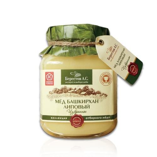 【Berestoff 貝爾】優質天然椴樹生蜂蜜 500g