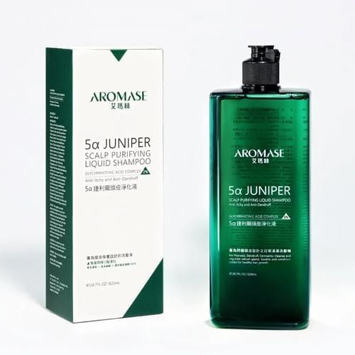艾瑪絲AROMASE 2%5α捷利爾頭皮淨化液260mL(涼感型)/820mL(涼感補充瓶)