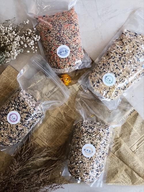 [晰穀多穀米]一小包穀物 | 養生配方 (盒裝70克x7小包/1公斤家庭號)
