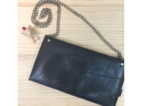 【法爾】KKO手工製作金鍊包|輪胎重生製成