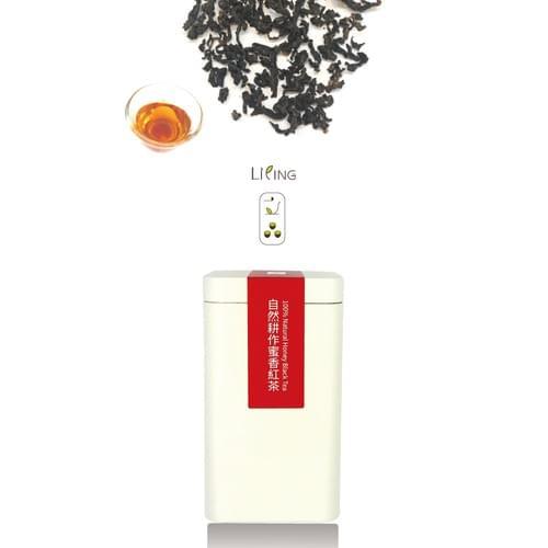 [立品茶園]全年無農藥|自然耕作蜜香紅茶 50 克|單罐裝