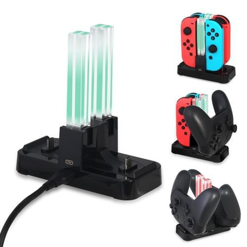 NS Controller Charging Dock for Joycon and PRO Controller