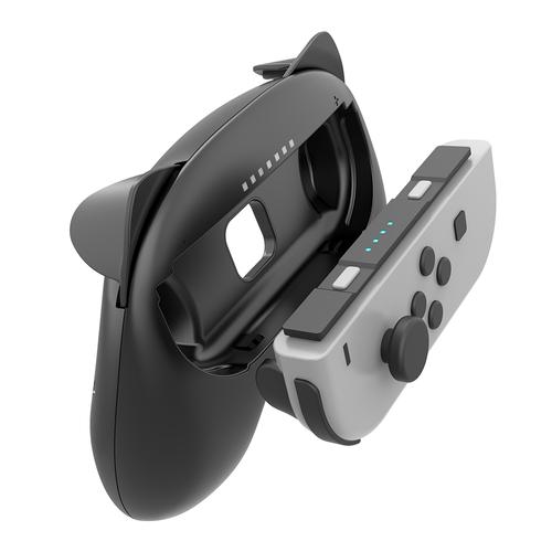 NS Joycon Steering Wheel and Grip Set