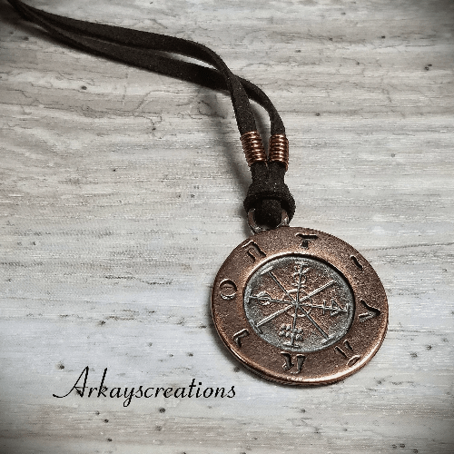 Ancient Astrology Pendant, Astrology Jewelry