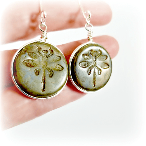 Dragonfly Earrings,  Dragonfly Gift,  Everyday Jewelry