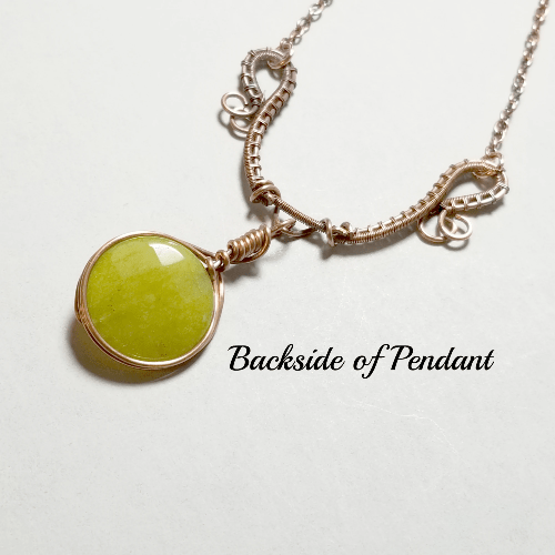 Jewelry for Women, Wire Wrapped Gemstone Pendant