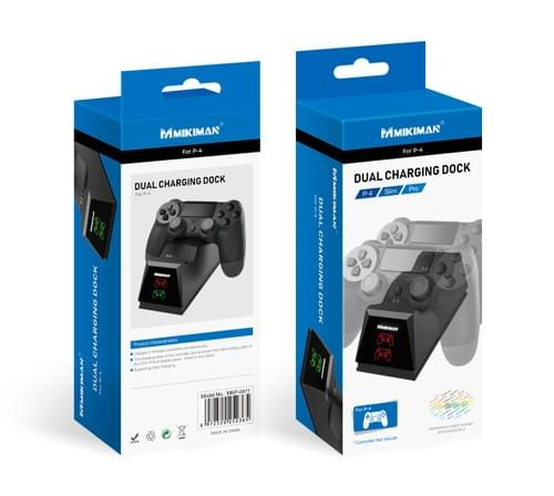 PS4 Dual Charging Dock, Expansion Port Charging