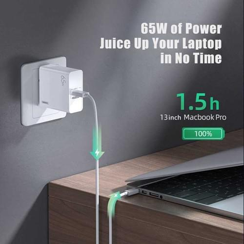 Remax GaN 65W Charger, USB-TYPE C