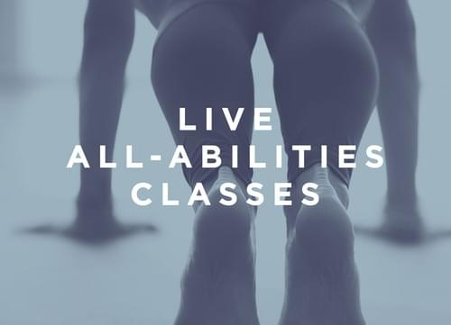 Live All-Abilities Pilates Classes - Tuesdays 8pm - Six Week Block