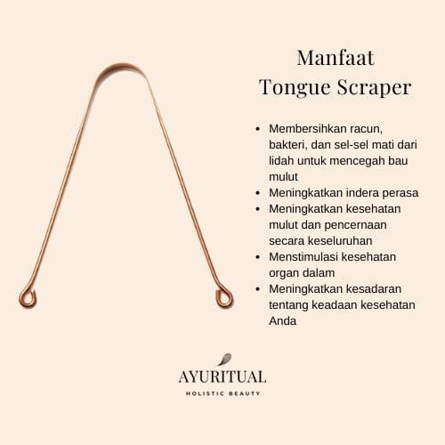 Tongue Scraper (Copper & Stainless Steel)