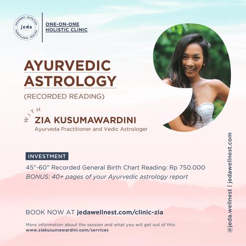 Ayurvedic Astrology Reading