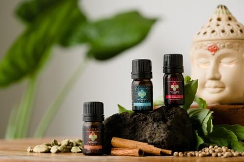 Triple Pack Essential Oil Healer Kit by Kimmana