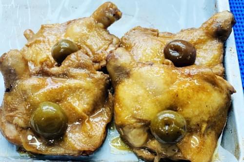 果物酵素烤雞腿 (冷凍-熟食)