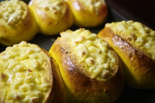 南瓜乳酪枸杞米麵包 (冷凍)