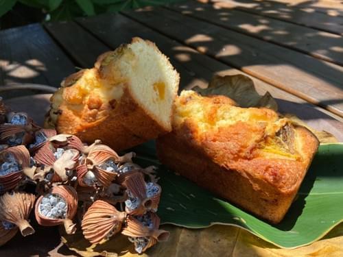 鳳梨磅蛋糕(半條) 限量