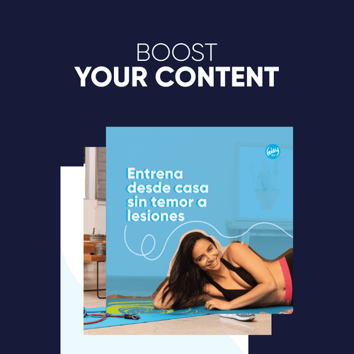 Boost Your Content (Plan mensual)