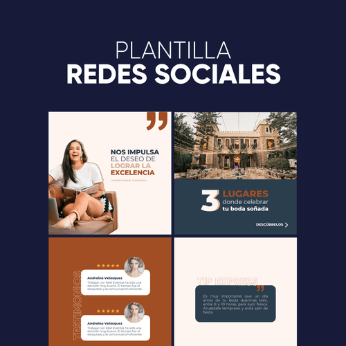 Plantilla Redes Sociales (Canva)