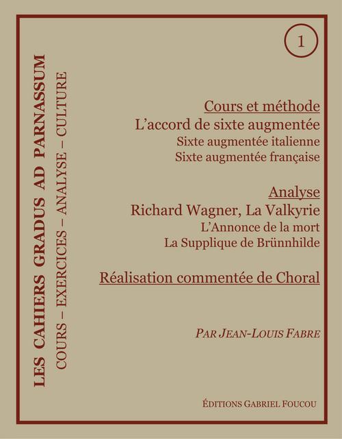 Les Cahiers Gradus ad Parnassum
