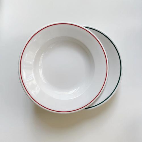 Porvasal 深盤 紅/綠