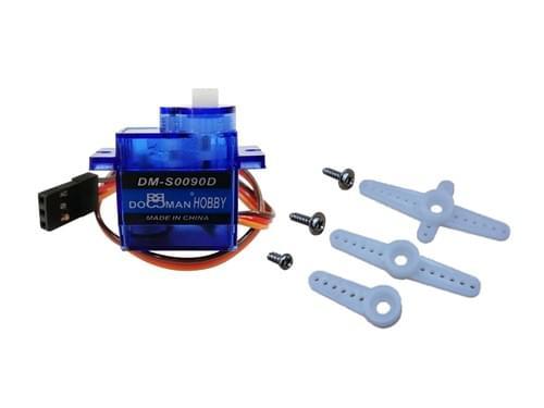 Micro Continuous Rotation Servo Motor (FS90R)