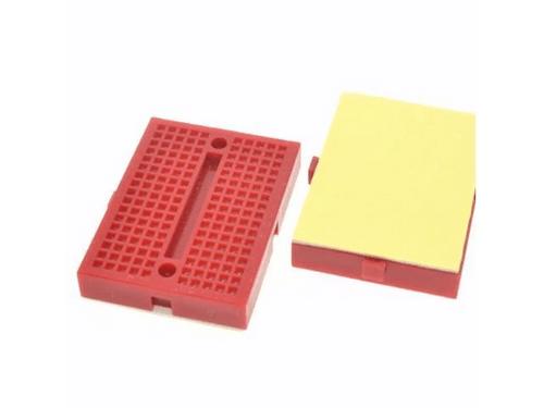 Mini Solderless Prototype Experiment Test Breadboard 170 Tie-points 35*47*8.5mm