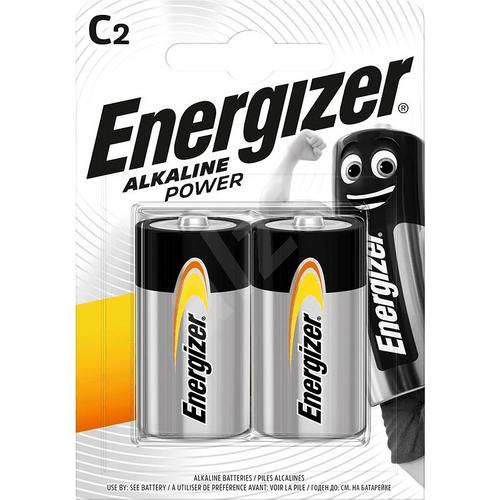 Energizer Alkaline Power C (2pc/pack)