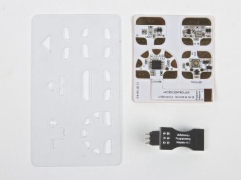 Chibitronics Circuit Stickers - Sensors & ATtiny85 Pack