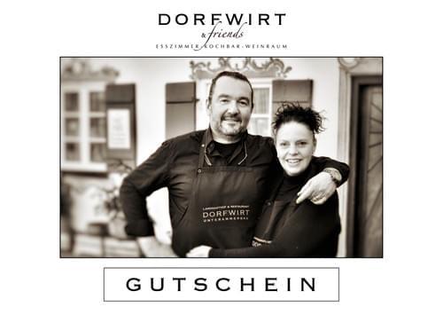 """GUTSCHEIN für """"DORFWIRT EASY PAKET"""""""