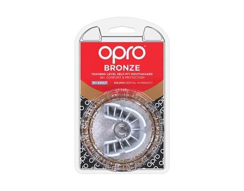 Chránič zubů OPRO Bronze white