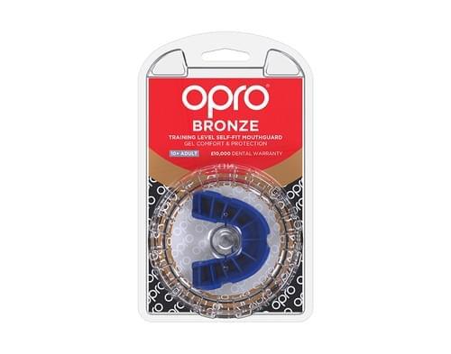 Chránič zubů OPRO Bronze blue