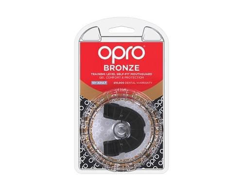 Chránič zubů OPRO Bronze black