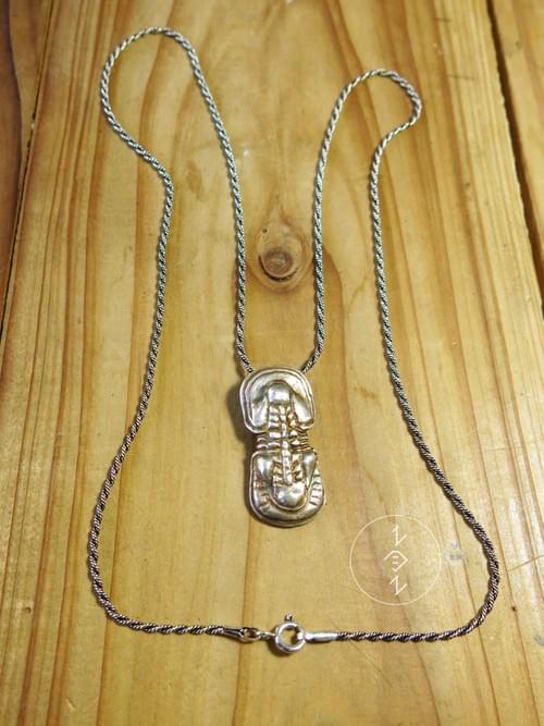 球接子三葉蟲吊墜 / Agnostid Trilobite Pendant