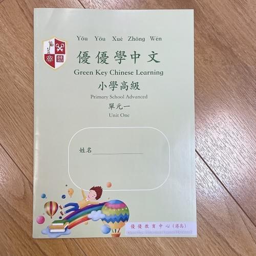 小學中文練習冊