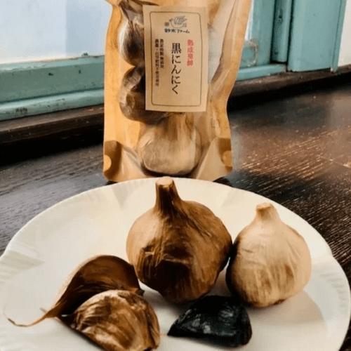 自然の恵みそのまんま 鈴木ファームの熟成発酵黒にんにく