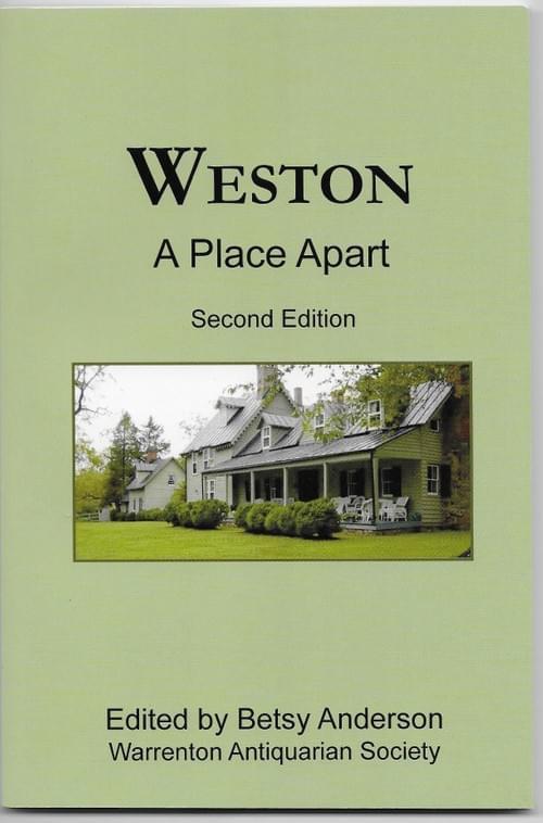 Weston: A Place Apart