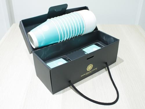 [ギフトボックス仕様]ドリップバッグ10袋入+紙カップセット