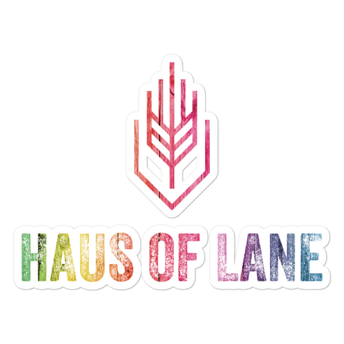 PRIDE 2020 Haus of Lane Sticker