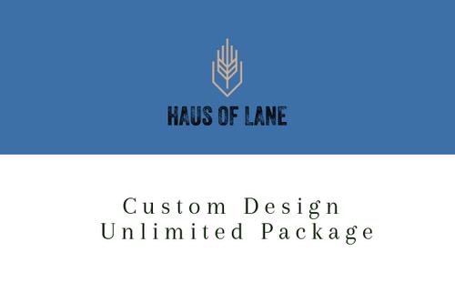 Custom Design UNLIMITED PACKAGE
