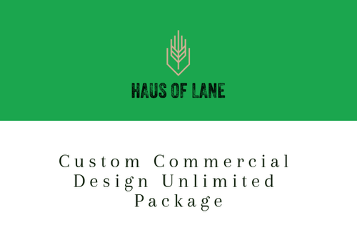 Custom Commercial Design UNLIMITED PACKAGE