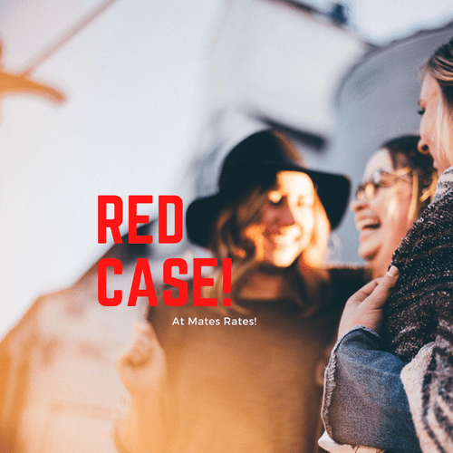 Red Case at Mates rates!