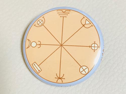 水星 第3の護符 缶バッチ 38mm