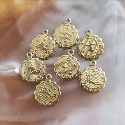 Collier mini médaille ASTRO