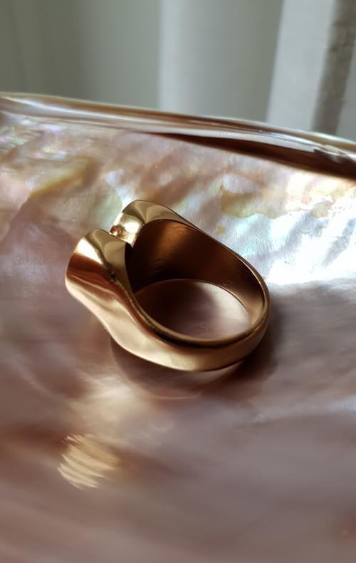 Chevalière COEUR